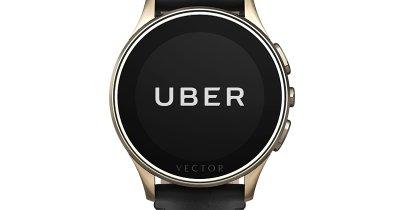 Acum poți comanda un Uber direct de pe smartwatch-ul Vector