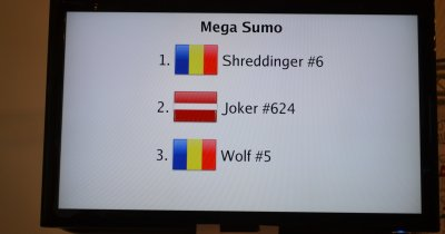 Am vorbit cu românii care sunt campioni europeni la sumo cu roboți