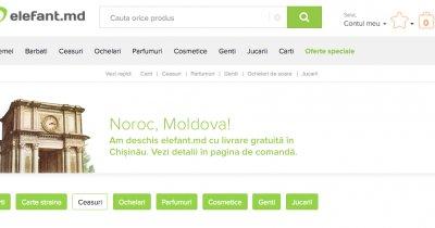 Elefant se extinde în Republica Moldova prin elefant.md