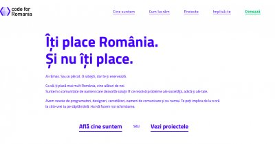 Programatorii se unesc pentru binele țării în comunitatea Code for Romania