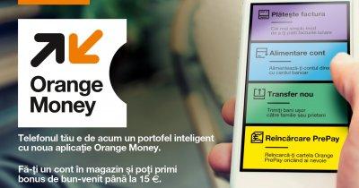 Orange lansează un serviciu de transfer de bani cu telefonul mobil în România