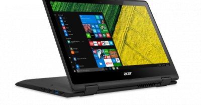 Acer a lansat noile modele de notebook-uri convertibile Spin 5 și Spin 7