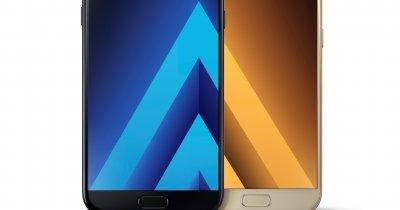 Samsung Galaxy A3 și Samsung Galaxy A5, modelele pentru 2017, anunțate oficial. Când apar pe piața din România