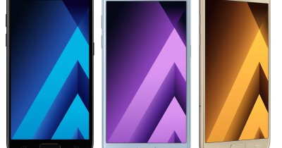 Noile smartphone-uri din seria Galaxy A ajung în România