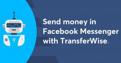 Primul serviciu internațional de transfer de bani prin Facebook Messenger