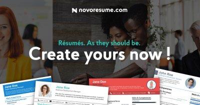 Novorésumé, platforma care-ți înfrumusețează CV-ul: statistici după un an de funcționare