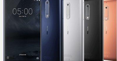 Nokia, revenire oficială pe piață la MWC 2017: trei smartphone-uri cu Android, pe lângă clasicul 3310