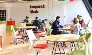 Impact Hub Bucharest se mută într-un proiect office