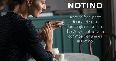 Aoro.ro se redenumește și devine Notino