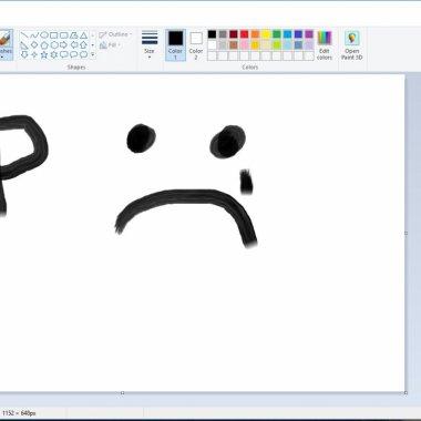 Adio, meme făcute în Paint: Microsoft ar ucide programul pentru desen