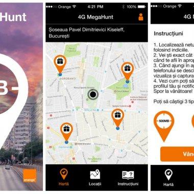 Orange folosește realitatea augmentată pentru a-și răsplăti clienții