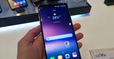 IFA 2017 - LG V30 e un telefon simplu, dar foarte premium