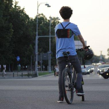 Salvatorul bicicliștilor are 17 ani. Finanțare prin crowdfunding