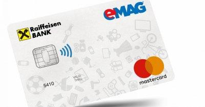 eMAG și Raiffeisen Bank lansează un card de credit comun