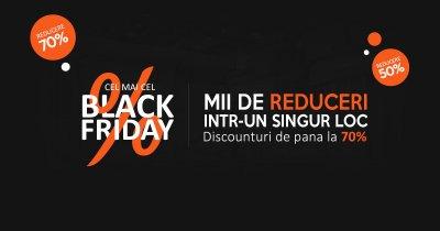 Black Friday 2017 la CEL.ro: magazinul online a început reducerile