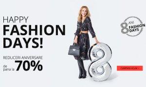 Ziua Fashion Days: reduceri de 70% la haine