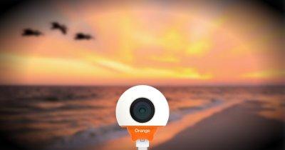 Orange Live Cam este o cameră 360 pentru telefoanele cu Android
