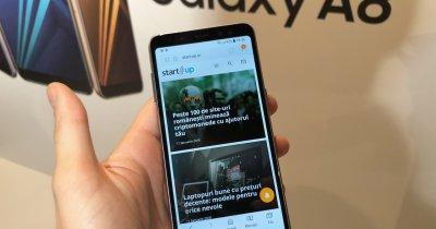 Samsung Galaxy A8 (2018) în România. Preț și disponibilitate