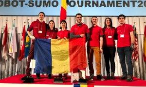 România, vicecampioană mondială la turneul de sumo robotic din Tokyo