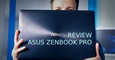 Review Asus ZenBook Pro UX550 - performanță pentru birou