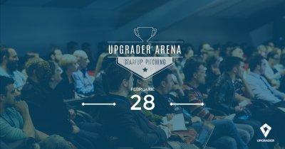 Upgrader Arena, eveniment de pitching pentru startup-uri