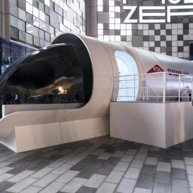 Transport de șeic - Virgin Hyperloop One ia avânt în Emirate