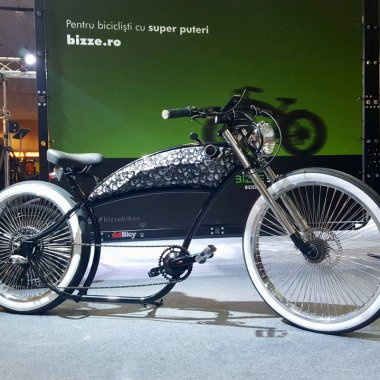 Bicicletele electrice românești Bizze Chopper arată bine și costă mult