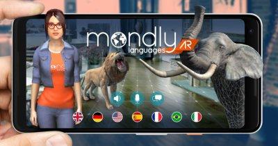 Brașovenii de la Mondly te învață lb. străine în realitate augmentată