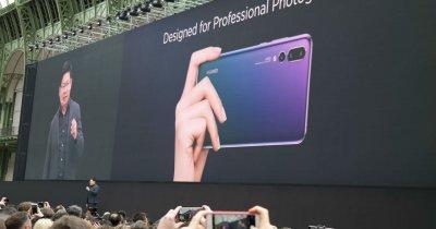Huawei P20 și Huawei P20 Pro, prezentate oficial: toate detaliile