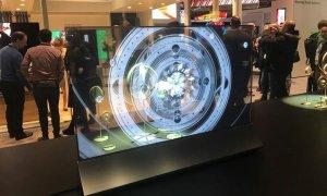 Soluțiile de afișaj LG pentru aeroporturi: display-uri transparente