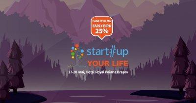 Înscrieri deschise la tabăra de antreprenoriat Startup Your Life