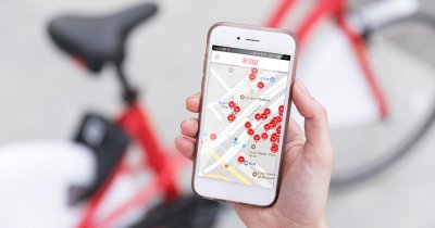 Bike sharing real în București - Ape Rider de la Pegas