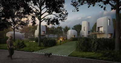Prima casă de locuit printată 3D, de închiriat în Europa