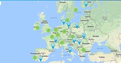 UE a creat o hartă interactivă a proiectelor de tip blockchain