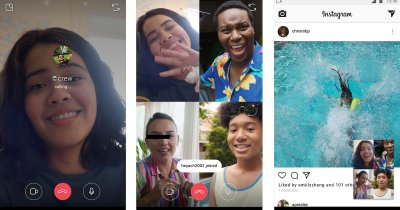 Instagram permite apelurile video de grup direct din aplicație