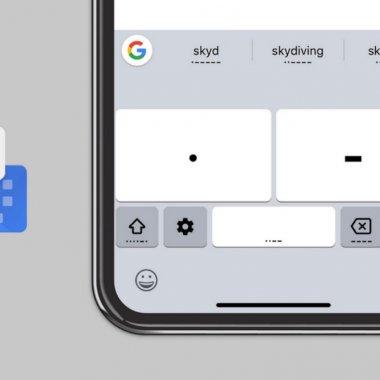 Codul Morse, disponibil pe iPhone cu ajutorul tastaturii de la Google