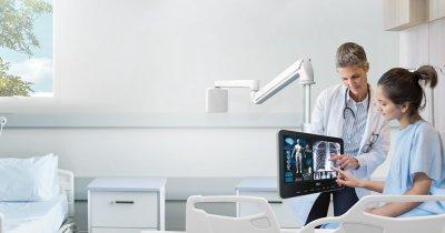 Acest televizor de la LG e creat special pentru spitale