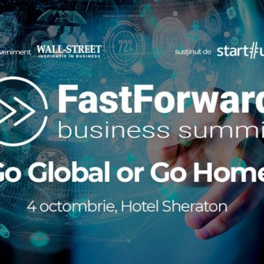 Fast Forward Business Summit 2018 - afaceri românești și pitching