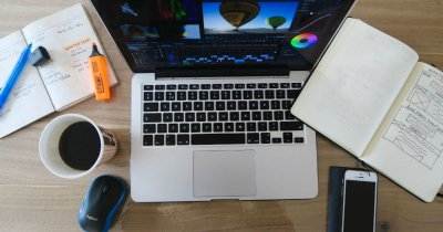 Cursuri editare foto&video: pachet de aplicații Adobe, sub 155 lei
