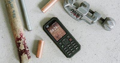 Telefonul meșterilor lansat într-un nou model: Cat B35 cu suport 4G