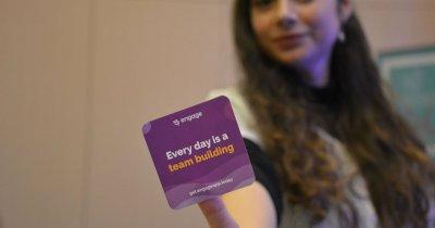 Startup-ul românesc care face din fiecare zi la birou un teambuilding