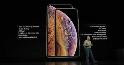 iPhone XS și iPhone XS Max, prezentate oficial: specificații