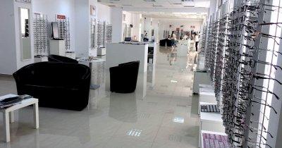Lensa.ro: peste 100.000 de euro în cel mai mare showroom de optică