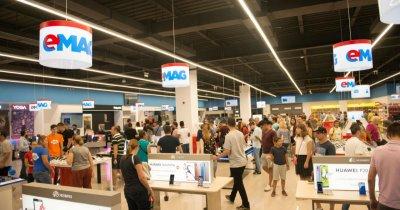 Comenzi record pentru eMAG în cel mai mare showroom din țară