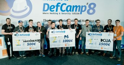 Competiția de hacking DefCamp - finaliștii primei etape