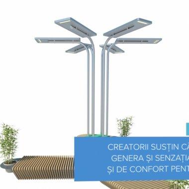 Green Spots - copacul electric creat de trei români pentru orașe