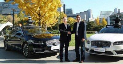 Ford și Baidu scot mașini autonome pe străzile chinezești