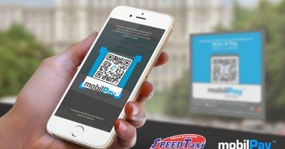 Îți poți plăti cursa Speed Taxi cu mobilul, prin mobilPay Wallet