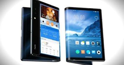 Primul smartphone pliabil, pus în vânzare de un startup chinez