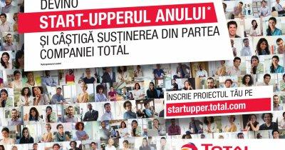 Startupperul Anului susținut de Total - ultima săptămână de înscrieri